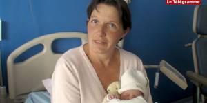 Émilie, premier bébé né sur l'île de Sein depuis 1978 !
