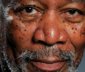 Morgan Freeman : son incroyable portrait par Kyle Lambert - vidéo