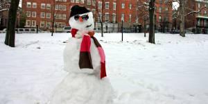 Tours : le bonhomme de neige de la mairie retrouvé grâce à Twitter