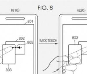 Samsung travaille sur des écrans tactiles transparents