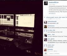 Booba travaille à fond sur son prochain album (photo)