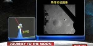 Conquête spatiale: la Chine réussit à alunir son rover du premier coup - en vidéo