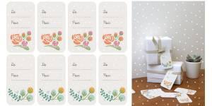 Comment fabriquer des étiquettes pour personnaliser les cadeaux de Noël ? – DIY