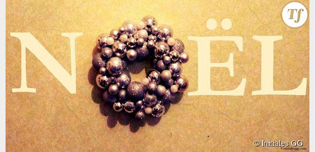 Comment fabriquer une couronne avec des boules de no l diy terrafemina - Comment faire une couronne de noel ...