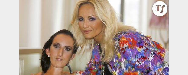 Cannes : Adriana Karembeu soutient une styliste atteinte d'une maladie génétique