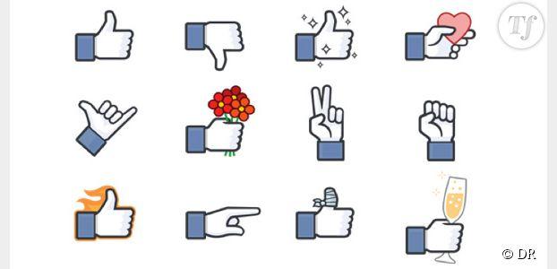 """Facebook lance son pouce """"dislike"""" et 11 autres boutons"""