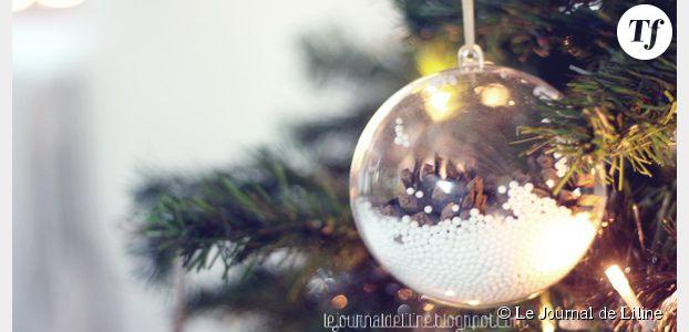 Fabrication De Boule De Noel En Polystyrene.Comment Fabriquer Des Boules De Noël Avec Des Pommes De Pin