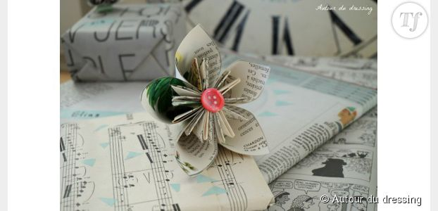 Repas de fêtes : fabriquer des décorations de table en origami – DIY