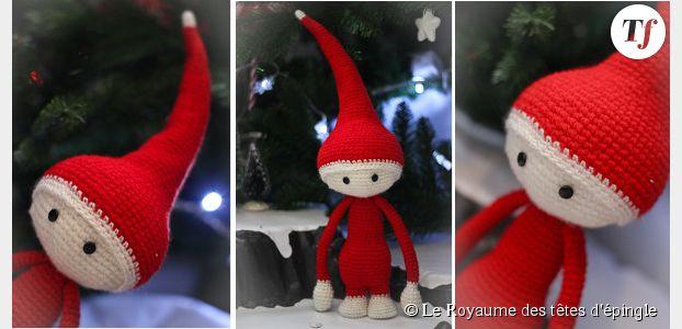 3e4780f2c435 Le retour des lutins de Noël… 14 patrons gratuits (tricot, crochet ...
