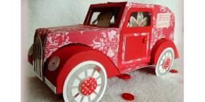 DIY de Noël : comment fabriquer une voiture en papier pour vos enfants ?