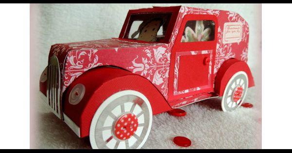 diy de no l comment fabriquer une voiture en papier pour vos enfants. Black Bedroom Furniture Sets. Home Design Ideas