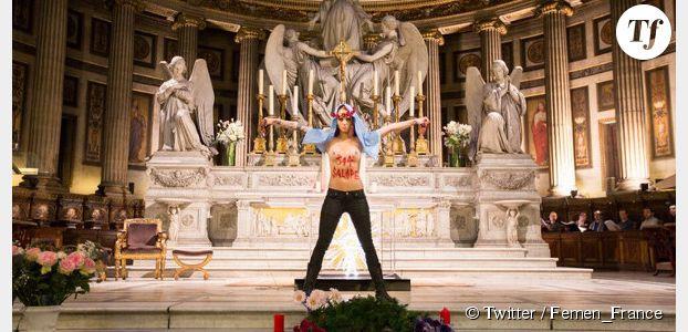 Femen : une députée UMP interpelle Valls sur le financement du mouvement