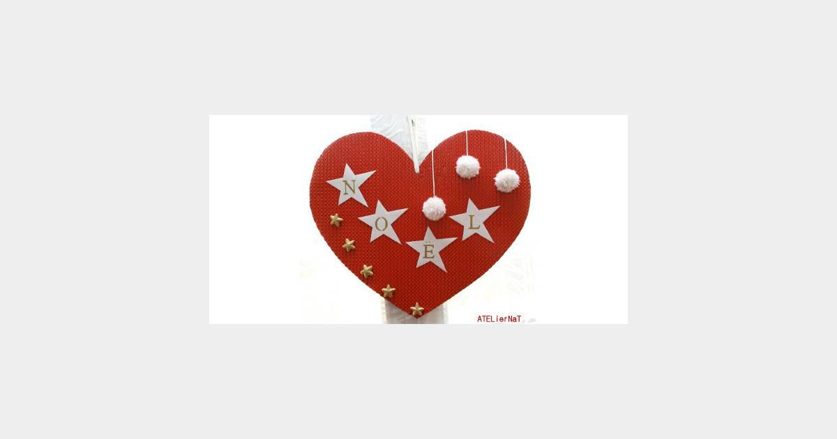 Comment fabriquer un c ur pour une d coration de f tes diy - Comment fabriquer un coeur ...