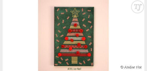 Comment fabriquer un tableau aux couleurs de Noël ? – DIY