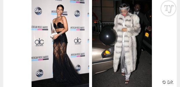 Rihanna est la star la mieux habillée de 2013