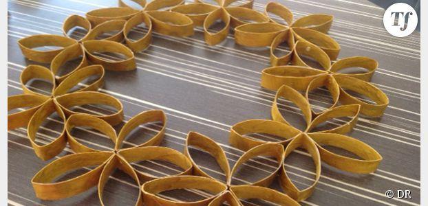 DIY de Noël : comment fabriquer une couronne écolo en carton recyclé