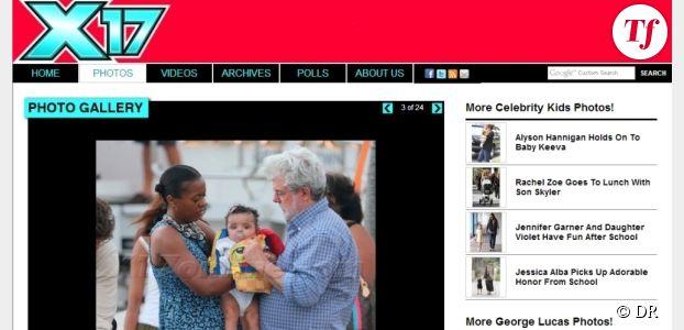 Star Wars : les premières photos de George Lucas avec son nouveau bébé