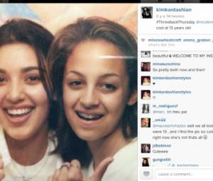 Kim Kardashian: sa selfie dossier avec Nicole Richie à 13 ans
