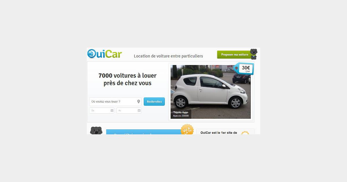 drivy ouicar buzzcar tout savoir sur la location de voitures entre particuliers. Black Bedroom Furniture Sets. Home Design Ideas