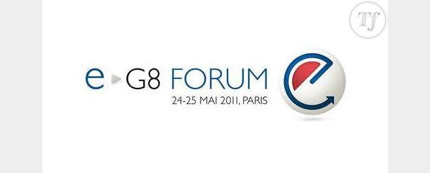 En direct du e-G8 : Nicolas Sarkozy reçoit les stars mondiales du Web