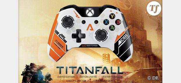 Xbox One: des manettes Titanfall exclusives dévoilées