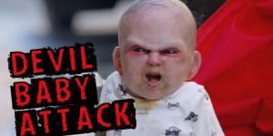 Un bébé diabolique terrorise New York - vidéo