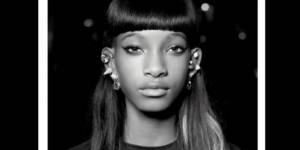 Willow Smith prend la pose pour Karl Lagerfeld