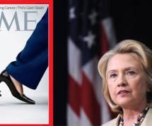 """Hillary Clinton : quand """"Time"""" en fait un talon géant qui piétine un homme"""
