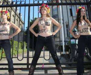 Femen : radicalisation du mouvement en 2014 ?