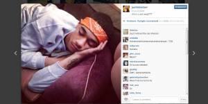 Justin Bieber montre ses fesses sur Instagram