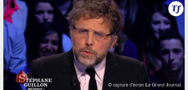 Quand Stéphane Guillon parodie François Hollande au Grand Journal pour railler Jean-Luc Hees