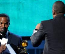 Grammy Awards 2014 : Jamie Foxx drague lourdement Beyoncé devant Jay-Z