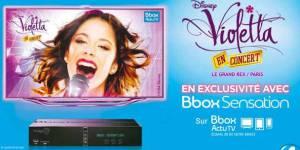 Violetta : le concert de Martina Stoessel diffusé sur Bouygues Telecom