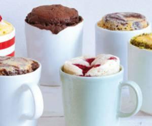 Mug cake au chocolat et au nutella : 5 recettes de gâteaux au micro-ondes
