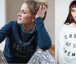 Sweats et tee-shirts à message pour week-ends stylés