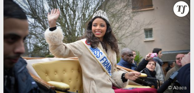 Flora Coquerel, Miss France 2014, est fan de badminton