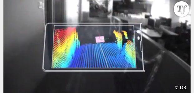 Tango : Google voit la vie en 3D