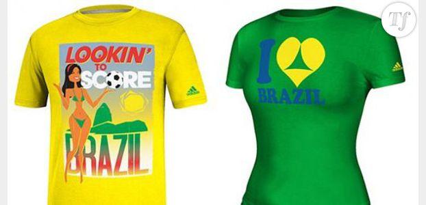Coupe du Monde 2014 : Adidas retire ses tee-shirts incitant au tourisme sexuel