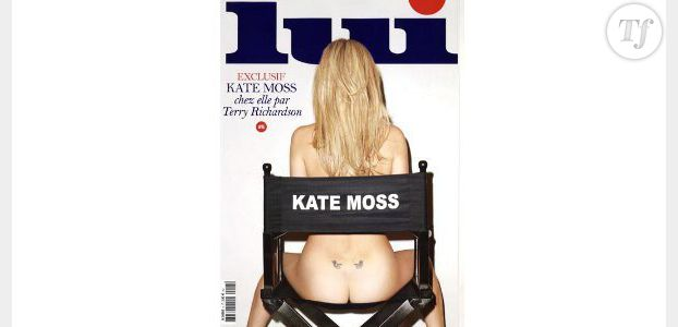 """Kate Moss pose nue en couverture de """"Lui"""" – photo"""