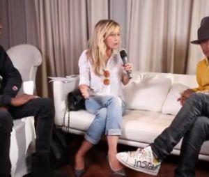 Interview de Pharell Williams: Enora Malagré assume et se fiche des critiques