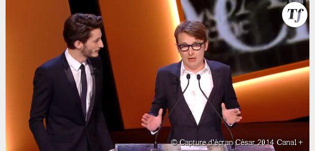 """César 2014 : Pierre Niney et Lorant Deutsch dans un sketch de """"Casting"""" hilarant - Vidéo"""