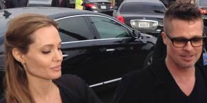 Angelina Jolie touche les fesses de Brad Pitt en public (vidéo)