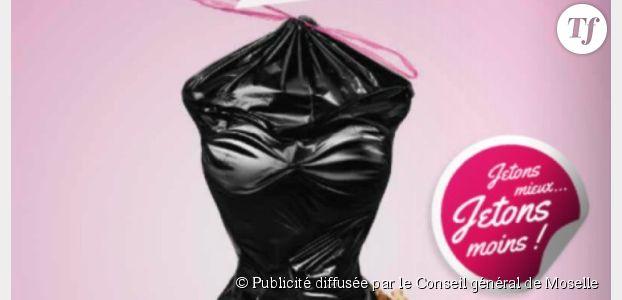 Pub sexiste : quand la Moselle assimile les femmes à des sacs poubelle