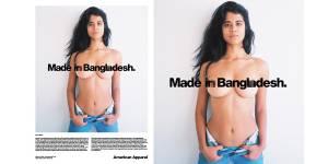 American Apparel : la pub provoc' qui montre une ex-musulmane seins nus