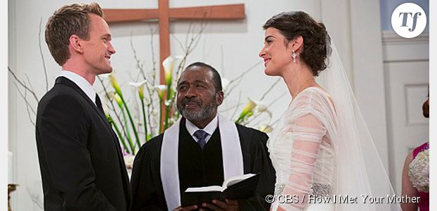 How I Met Your Mother saison 9 : le mariage de Robin et Barney en photos