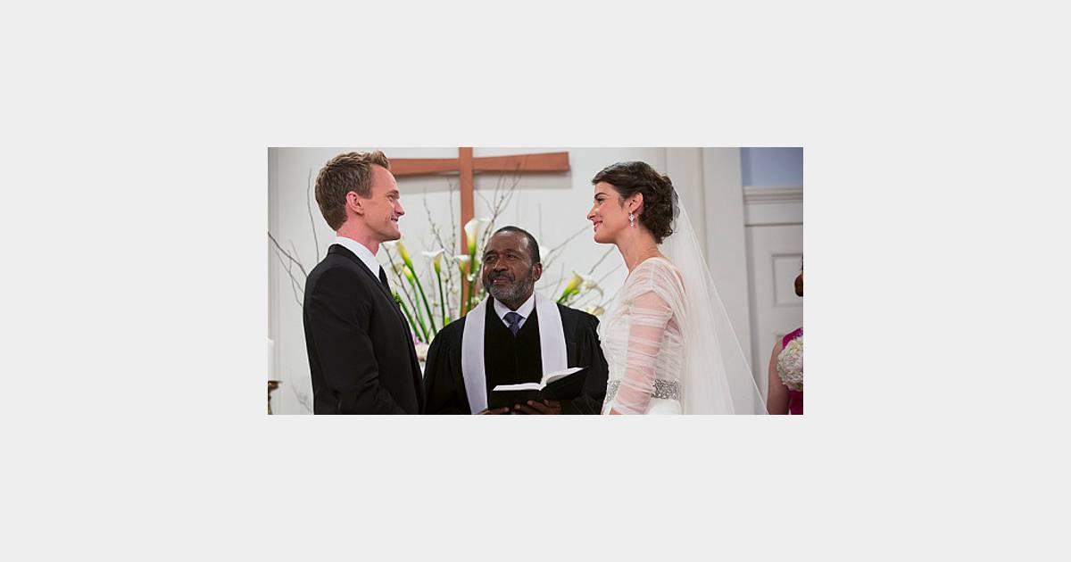 How i met your mother saison 9 le mariage de robin et - Les photos de mariage ...