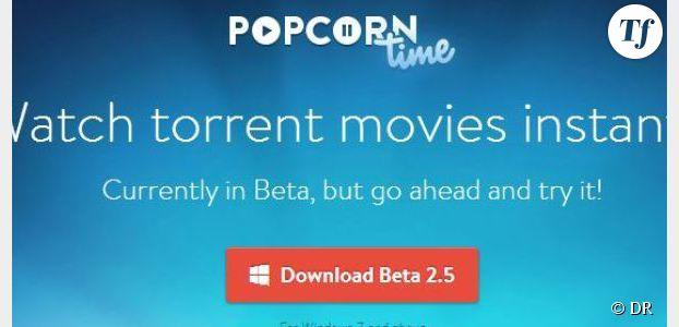 Popcorn Time : fermeture du site et logiciel indisponible au téléchargement