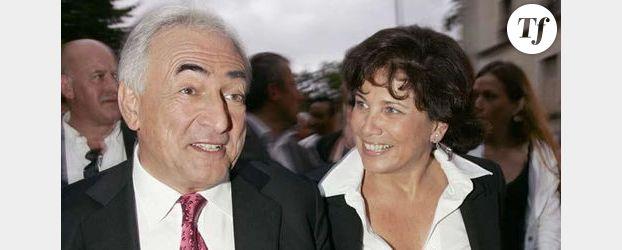 Anne Sinclair : l'épouse de DSK est grand-mère !