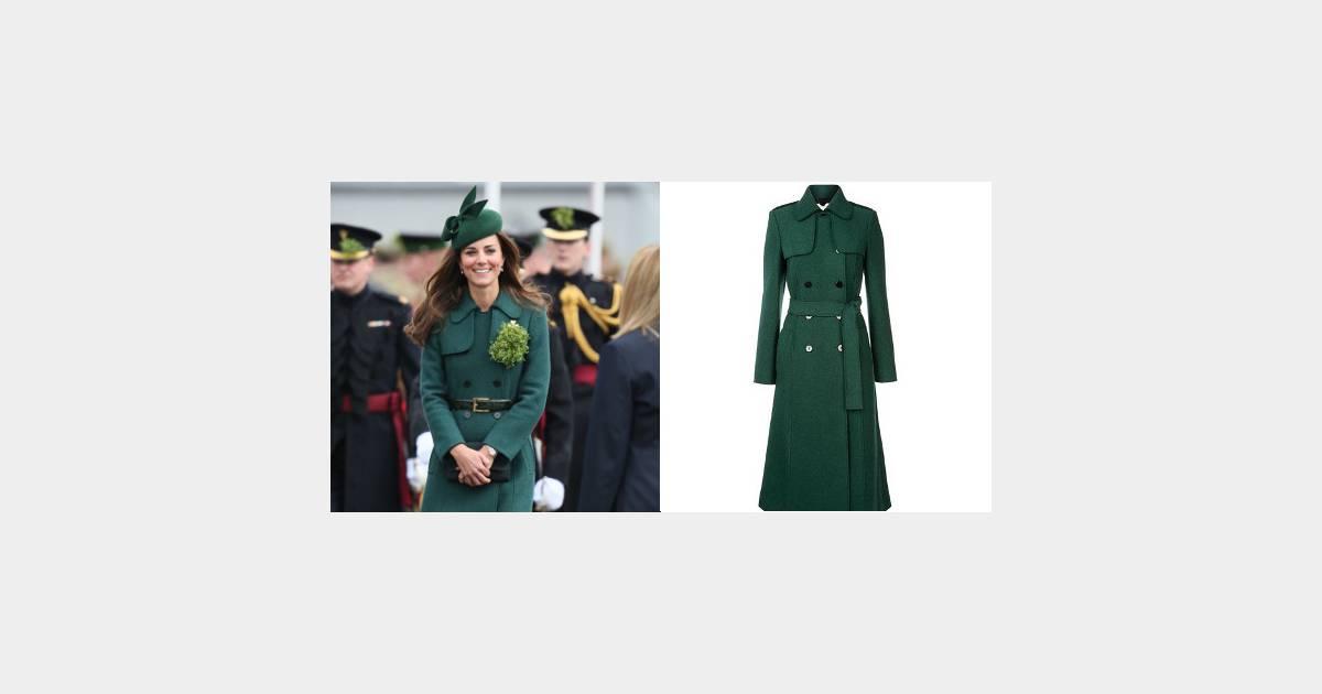 kate middleton o acheter son manteau vert meraude de la saint patrick terrafemina. Black Bedroom Furniture Sets. Home Design Ideas