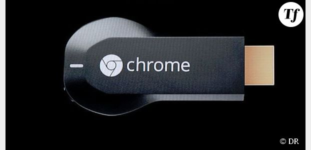 Google Chromecast : la clé disponible à la vente en France